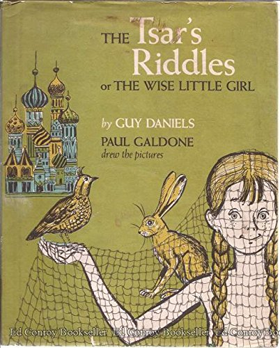 9789997502469: The Tsar's Riddles; Or the Wise Little Girl