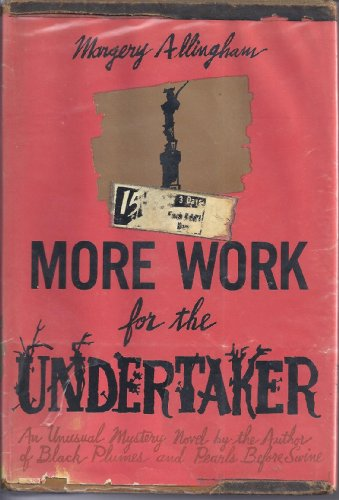 9789997502834: More Work For The Undertaker