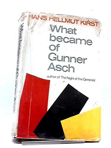 9789997518323: What Became of Gunner Asch