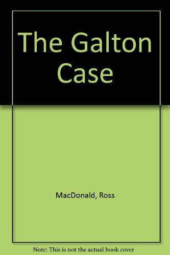 9789997519597: The Galton Case