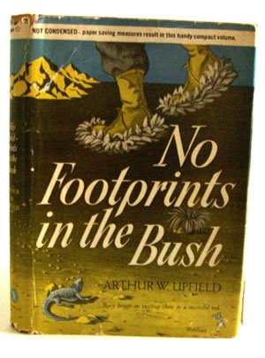 9789997524195: No Footprints in the Bush/(Variant Title = Bushranger of the Skies)