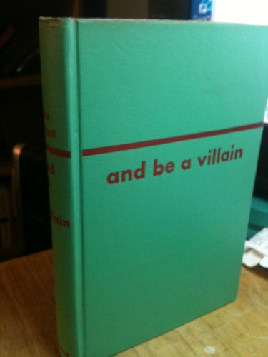 9789997524850: And Be a Villain