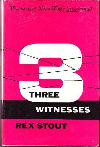 9789997525154: Three Witnesses