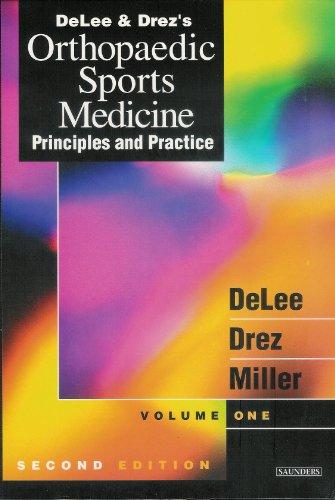 9789997635174: Delee & Drez's Orthopaedic Sports Medicine: Principles and Practice