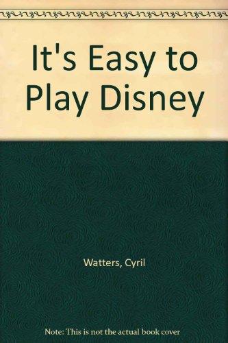 9789997644114: It's Easy to Play Disney