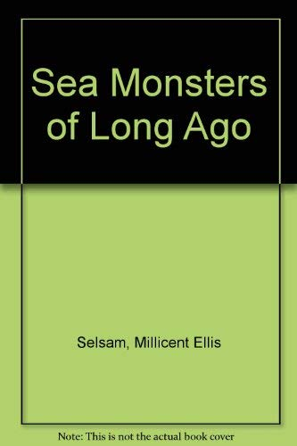 9789997778765: Sea Monsters of Long Ago