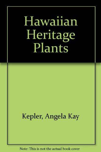 9789998024618: Hawaiian Heritage Plants