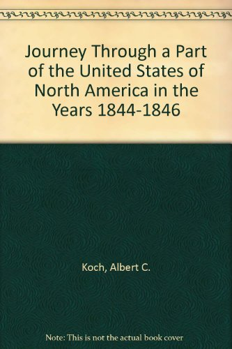 9789998113091: Journey Through a Part of the United States of North America in the Years 1844-1846