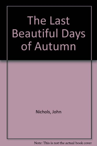 9789998178113: The Last Beautiful Days of Autumn