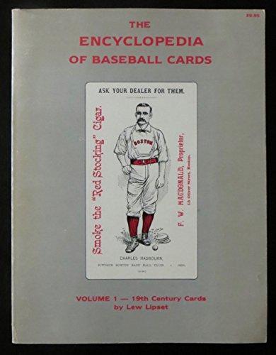 The Encyclopedia of Baseball Cards, Volume 1: Lipset, Lew
