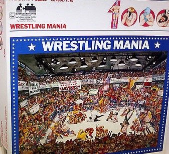 9789998649866: Wrestling Mania/1000 Pieces (Deluxe Jigsaw Puzzle/6251)