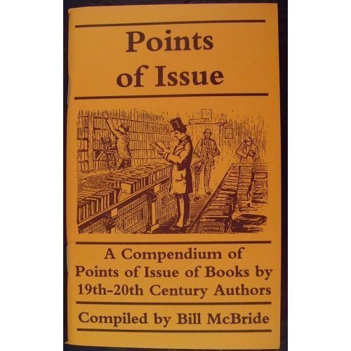 9789998804678: Points of Issue: A Compendium of Points of Issue of Books by 19Th-20th Century Authors