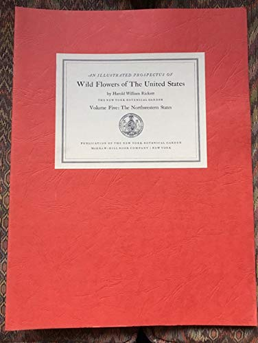 9789998893412: Wild Flowers of the United States, Vol 5: The Northwestern States (Wild Flowers of the United States, 2 Parts, Volume 5)