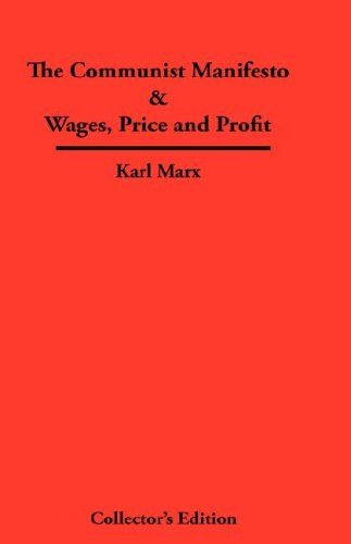 9789998995017: The Communist Manifesto & Wages, Price and Profit