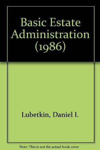 9789999016483: Basic Estate Administration (1986)
