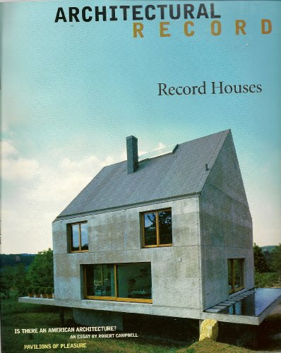 9789999065894: Architectural Record 1999: Record Houses