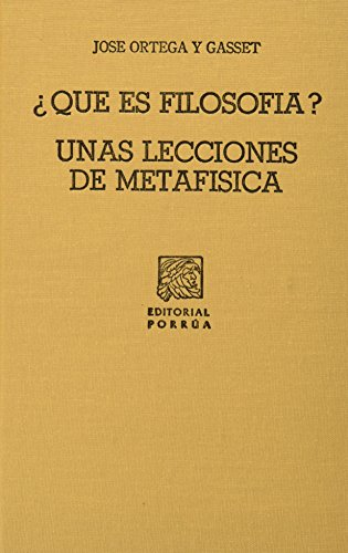9789999066242: QUE ES FILOSOFIA (SC499)