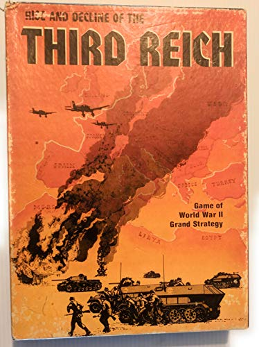 Rise and Decline of the Third Reich: Game of World War II Grand Strategy Bookcase Game 813 by ...