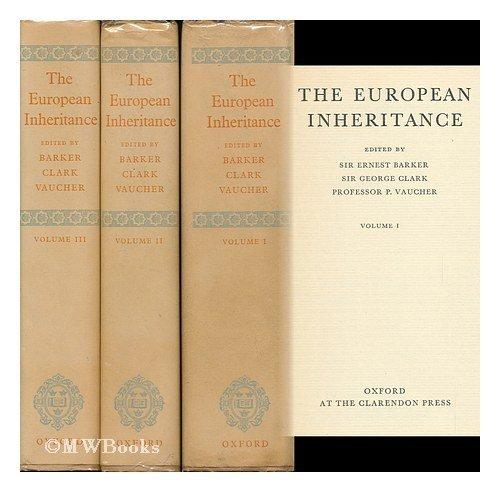 9789999443616: The European Inheritance, Vol. 1