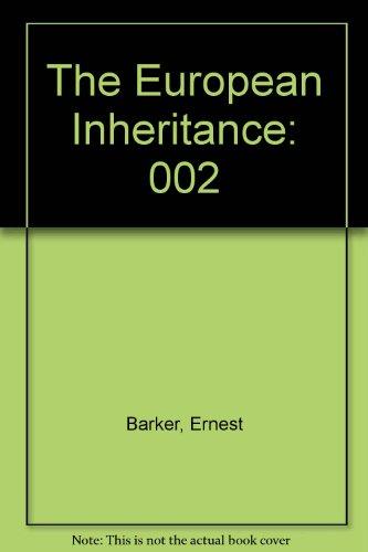 9789999443630: The European Inheritance, Vol. 2