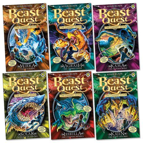 9789999467650: Beast Quest Series 12 The Darkest Hour 6 Books Collection Set (Books 67-72) b...