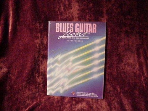 9789999587938: Blues Guitar Licks