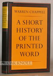 9789999701297: A Short History of the Printed Word