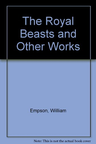 9789999755672: The Royal Beasts and Other Works