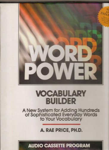 Wordpower Vocabulary Builder /Audio Cassettes: Price, Rae A.