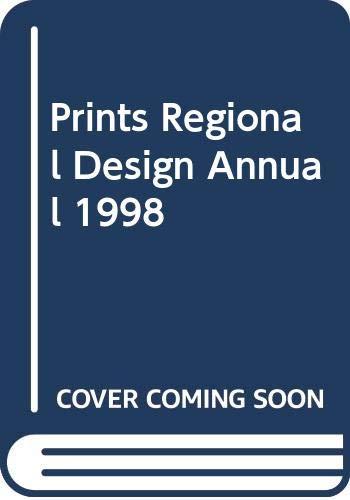9789999818803: Prints Regional Design Annual 1998