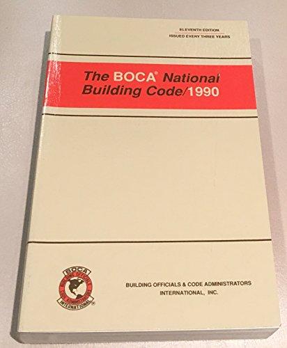 9789999943161: Boca National Building Code, 1990