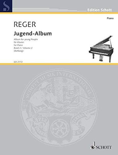 Jugendalbum aus op.17 Band 2 :für Klavier: Max Reger