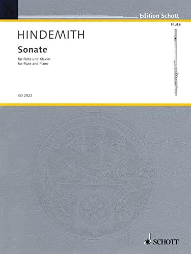Sonate : für Flöte undKlavier (1936): Paul Hindemith