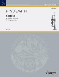 HINDEMITH Sonate For Trumpet and Piano 24 pages