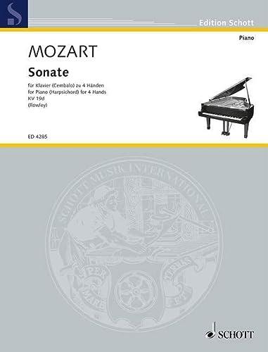Sonate C-Dur KV19d : fürKlavier zu 4 Händen: Wolfgang Amadeus Mozart