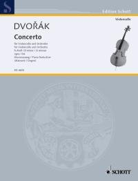 Konzert h-Moll op.104 für Violon-cello und Orchester : für Violoncello: Antonin Dvorak
