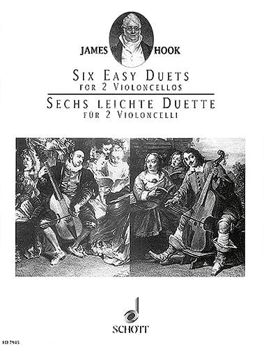 6 leichte Duette op.58 :für 2 Violoncelli: James Hook