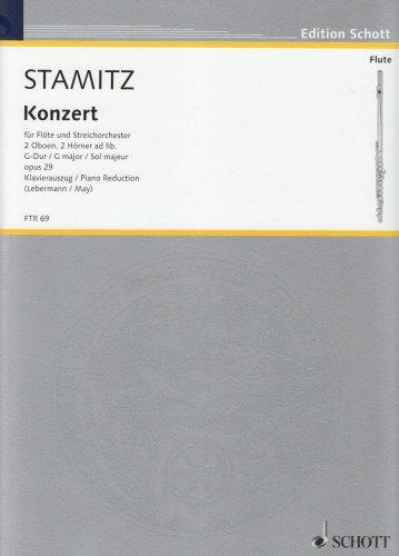 Konzert G-Dur op.29 für Flöte undOrchester : für Flöte und Klavier: Karl ...