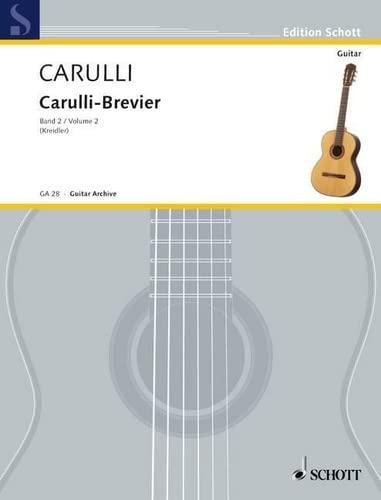 Carulli-Brevier Band 2 : für Gitarre: Ferdinando Carulli