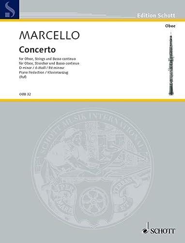 Konzert d-Moll für Oboe undStreichorchester : für Oboe: Alessandro Marcello