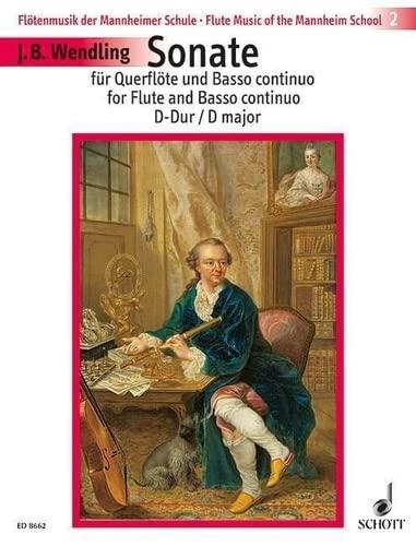 Sonate D-Dur op.4,3 : fürFlöte und Bc: Jean Baptiste Wendling