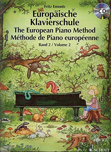 9790001124720: EMONTS - Metodo Europeo 2º para Piano (Libro y CD)