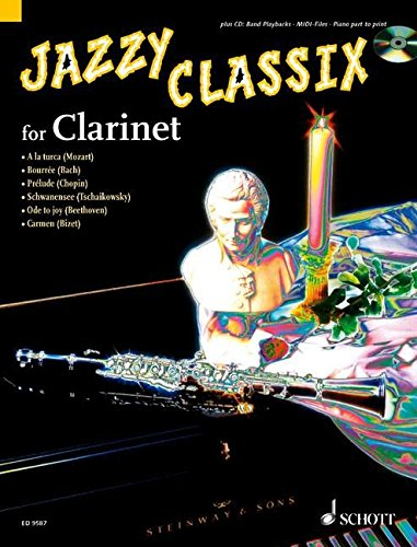 Jazzy Classix (+CD) : for clarinet