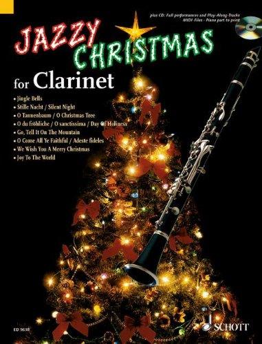 Jazzy Christmas (+CD) :for clarinet