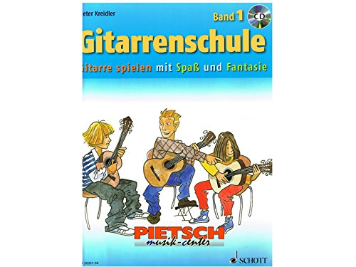 Gitarrenschule Band 1 (+CD): Dieter Kreidler
