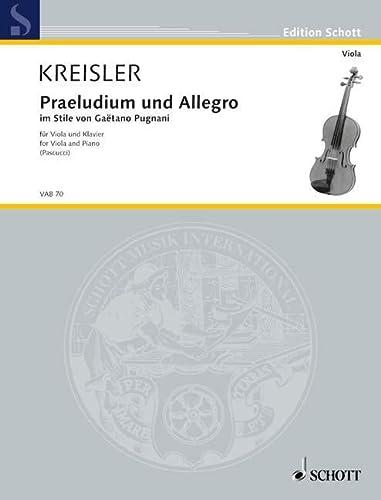 Praeludium und Allegro: im Stile von Gaetano