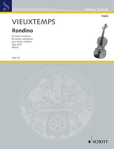 Rondino op. 32/2: Violine und Klavier, ;: Ida Bieler
