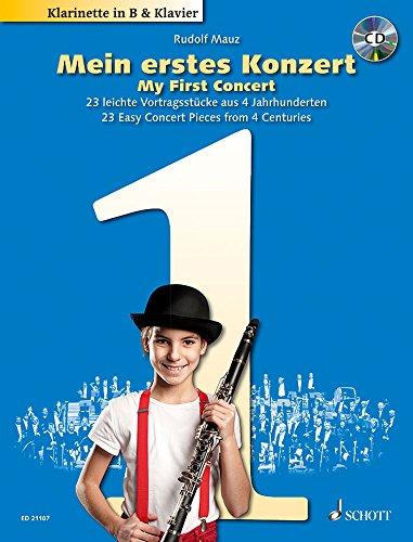 Mein erstes Konzert (+CD) :für Klarinette und Klavier