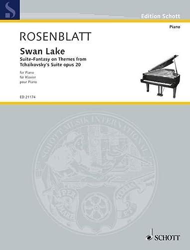 Swan Lake op.20 : für Klavier: Alexander Rosenblatt