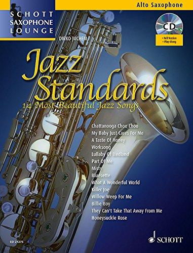 Jazz Standards (+CD) :für Altsaxophon und Klavier